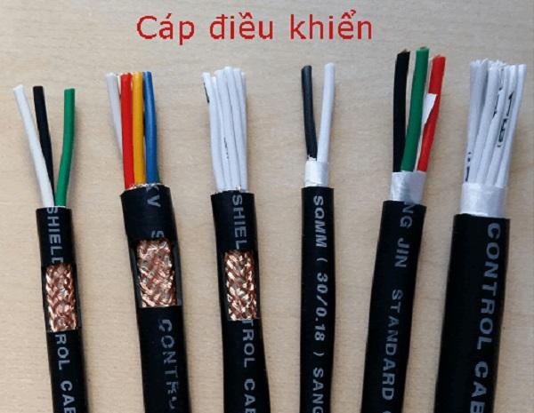 Dây cáp điện Cadivi điều khiển