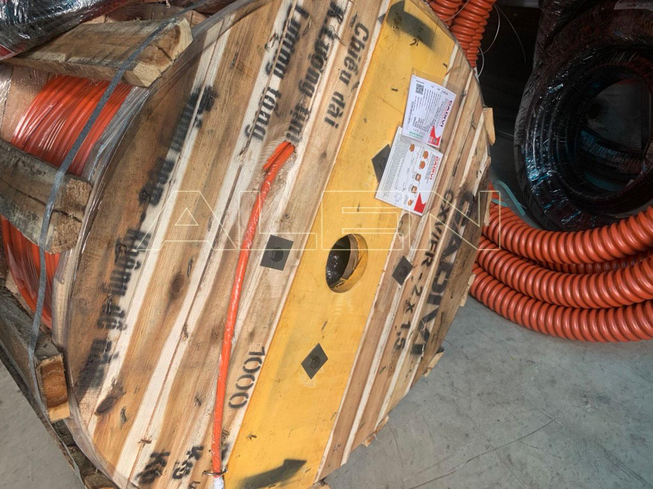 dây cáp điện chống cháy cadivi cxv/fr
